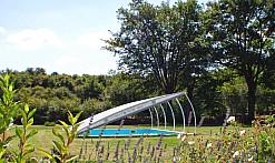 piscine avec abris